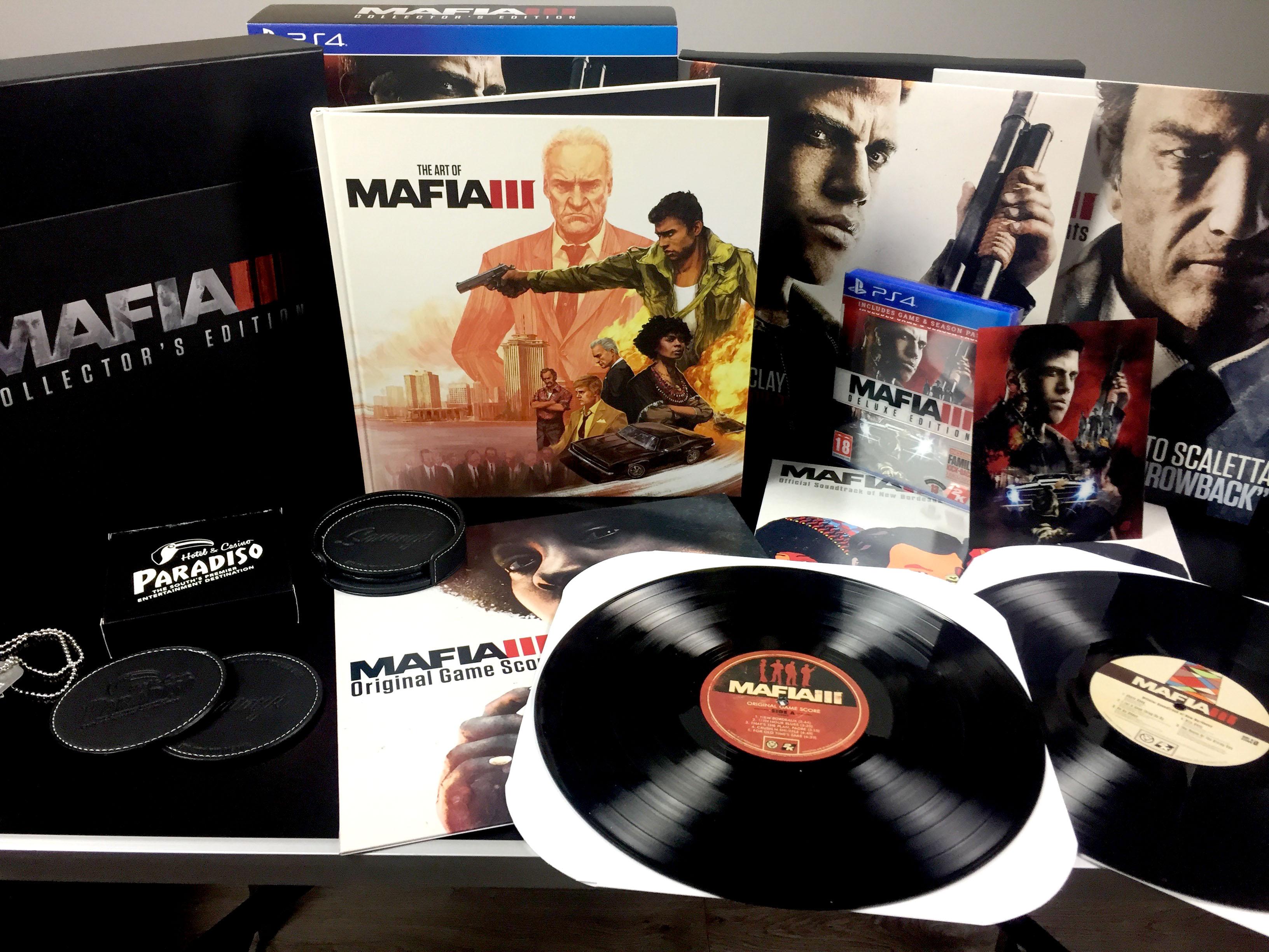 Картинки по запросу mafia iii collector's edition ps4