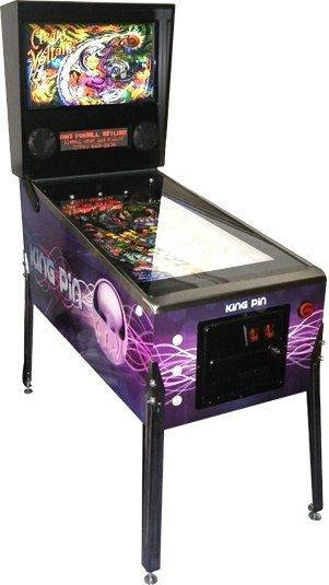 The King-Pin Virtual Pinball Table