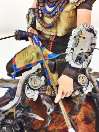 Horizon Zero Dawn Collectors Edition - Aloy Detail