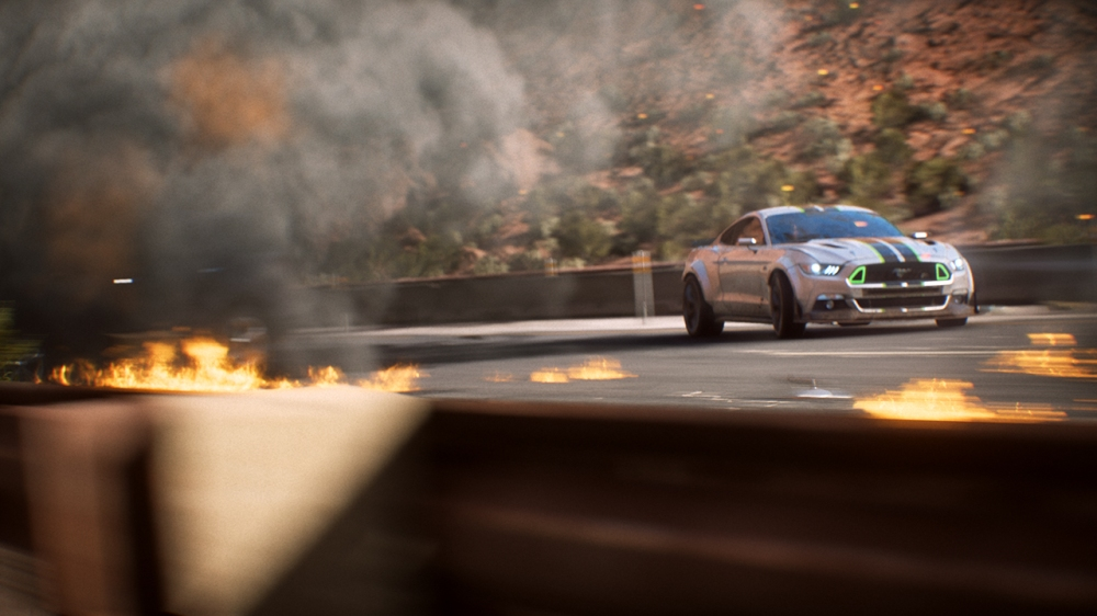 Need For Speed Payback Reveal Action Shot